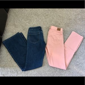 Limited(Flare) & AE (bootcut) Jeans Bundle